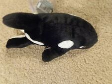 New 1998 Coca-Cola Coke Beanie Baby Babies Whale With Coca-Cola Bottle