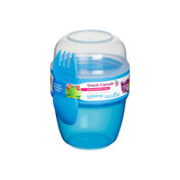 Sistema Snack Capsule to Go, Blue Lunch Pot Snacks Food On The go School Work