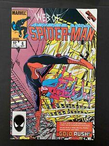 WEB OF SPIDER-MAN #6  MARVEL COMICS 1985 VF