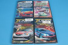 4 Full Throttle automotive DVD's Tuner Transformation NMCA Super Series Atlanta
