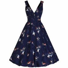 Retro Party Sleeveless Dresses for Women