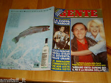 GENTE=1985/24=HEATHER PARISI=JUVENTUS LIVERPOOL HEYSEL=RAMONA DELL'ABATE=DOVA G.