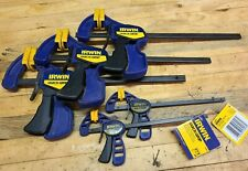 """5x Quick Grip Bar Clamps 6"""" and 4"""" Micro American Tool"""