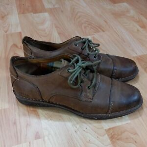 Fossil Men's size 10 leather Shoes ffm4056219 HB 0611 good used condition
