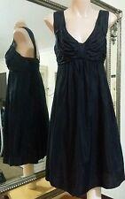 Witchery Dress.Sz6.Silk bodice.Viscose skirt.Elasticised skirt.New unworn condit