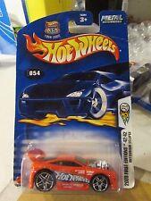 Hot Wheels Mitsubishi Eclipse #054 Red (Card Bent)