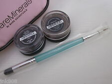 BARE ESCENTUALS bare Minerals * CARNIVAL & LUXE LINER SHADOW & BRUSH SET * $58