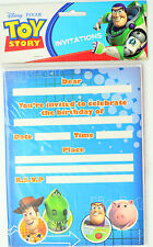 TOY STORY PARTY SUPPLIES INVITE INVITATIONS PACK OF 8