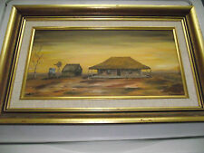 1925 ANTIQUE ORIGINAL OIL PAINTING BY LISTED ARTIST J. JONES
