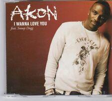 (DY438) Akon, I Wanna Love You ft Snoop Dogg - 2007 DJ CD
