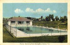 Piscine, Swimming Pool, Grand Mere, Quebec Canada 1946