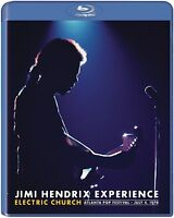 JIMI HENDRIX - JIMI HENDRIX: ELECTRIC CHURCH  BLU-RAY NEU