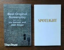 2 FYC SCREENPLAYS : THE POST and SPOTLIGHT