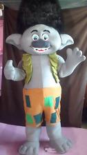 Halloween Branch Trolls Gnome Mascot Costume Poppy Adult Size Birthday Dress new
