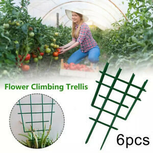 IC- 6x Garden Climbing Plant Support Cage Trellis Flowers Stand Rings Tomato Veg