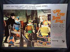 FOTOBUSTA CINEMA - CITTY CITTY BANG BANG - DICK VAN DYKE - 1968 - FANTASTICO -01