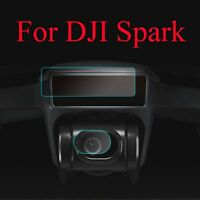 HD Ultra-thin Screen and Lens Protective Protector Film for DJI Spark 2 sets