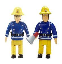 Sam Le Pompier Pack De 2 Figurines - sam avec Mégaphone et Elvis TOUT NEUF