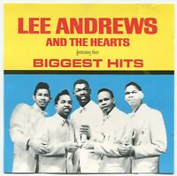 LEE ANDREWS AND THE HEARTS ~ BIGGEST HITS ~ 1990 CANADIAN 12-TRACK CD ALBUM