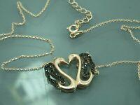 Turkish Handmade Jewelry 925 Sterling Silver Onyx Stone Women Necklace