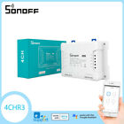 Sonoff 4CHR3 4 Way Smart Switch Wireless Wifi APP Remote Control for Android IOS