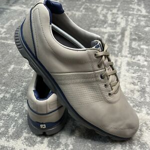 FootJoy Dryjoys Tour Golf Shoes Mens 13M 53514 Tan Leather Excellent Condition