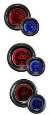 Prosport 52mm Evo coche Boost Psi + presión de aceite + Aceite Temperatura Rojo Azul Medidores