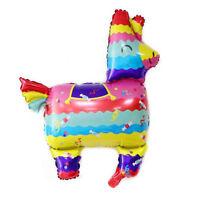 llama foil balloons alpaca helium party balloon birthday party rainbow decor+O