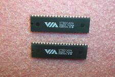 QTY (10) VT82C42N VIA 40 PIN DIP KEYBOARD CONTROLLER P80C42 CROSS NOS 1 TUBE