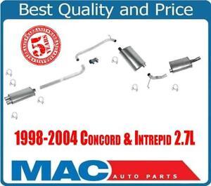 Concord & Intrepid 2.7L Resonator Exension Pipe Muffler Axle Pipe & Rear Muffler