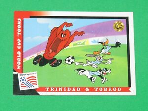 1994 WORLD CUP LOONEY TOONS USA SOCCER PROMO TYCO ACTION FIGURE #3 INSERT CARD