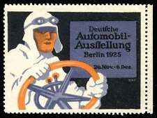 Germany Poster Stamp - International Automobile Exhibition 1925 -  L. Bernhard