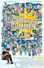 POSTER 500 DAYS OF SUMMER GIORNI INSIEME LOVE COMEDY