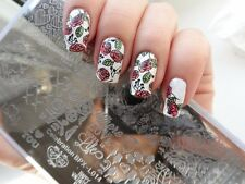 Valentine's Love Day Celebration DIY Manicure Nail Art Stamping Image Plate