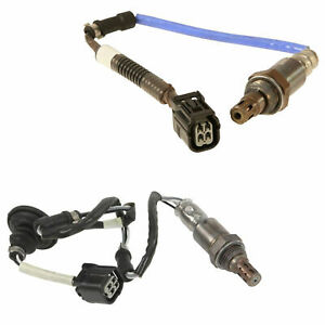 Front Air Fuel Ratio & Rear Oxygen Sensor O2 Pair For Honda Civic Si K20Z3 2.0L