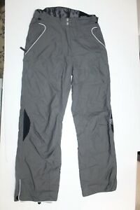 Rossignol Gray Snow Ski Snowboard Pants Womens Size M Waterproof Winter Outdoors