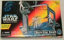 Star Wars Death Star Escape SET Comme neuf IN autographié Box dernier!