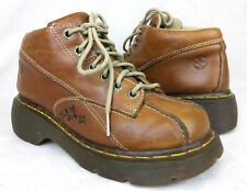 Dr Martens 12281 Sz 4 UK 6 US Women's Brown Leather Lace Up Ankle Boots