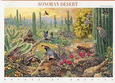 SONORAN DESERT STAMP SHEET -- USA, #3293 33 CENT 1999 NATURE OF AMERICA