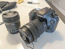 Canon EOS 7D Mark II 20.2MP Digital SLR Camera - With 2 Canon lenses
