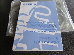 Yamaha TTR125 TR125LW TTR 125 R 2003 Genuine Workshop Service Manual