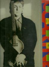 RARE / PROGRAMME CONCERT - PAUL McCARTNEY THE BEATLES LIVE A PARIS 1999 PROGRAM