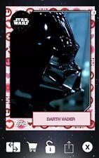 Topps Star Wars Card Trader Darth Vader 2019 Valentine's Day Variant 2