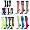1Pair Compression Sports Support Calf Running Medical Socks Stockings Mens Women