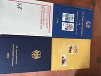 Germany Bundespost postwertzeichen 4 books incl  1984.86,95 + 98 mnh