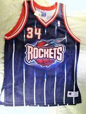 Champion Authentic Houston Rockets Hakeem Olajuwon jersey 48 XL NWT 90s vintage