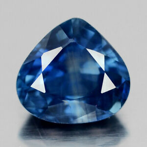 Natural Blue Sapphire Pear Shap Hand Carved Blue Sapphire Loose Gemstone-Blue Sapphire Gemstone Sapphire-AAA Quality-11-15 MM-JC-2779