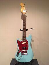Kurt Cobain Sonic Blue Fender Mustang Left Handed w/Tremolo