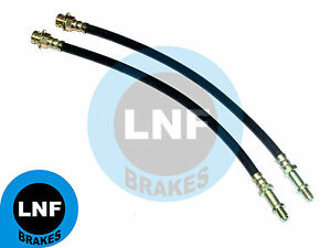 PLYMOUTH BARRACUDA DODGE CHALLENGER DISC BRAKE HOSE FRONT PAIR X2 74 1974