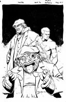A&A Archer and Armstrong #12 Original Art COVER by Brent Peeples Valiant Comics